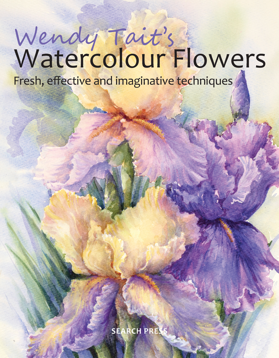 Book Cover Watercolor Flowers : Search press na for all your art book craft and