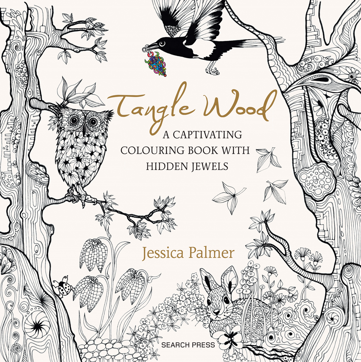 Watercolor books by search press - Tangle Wood