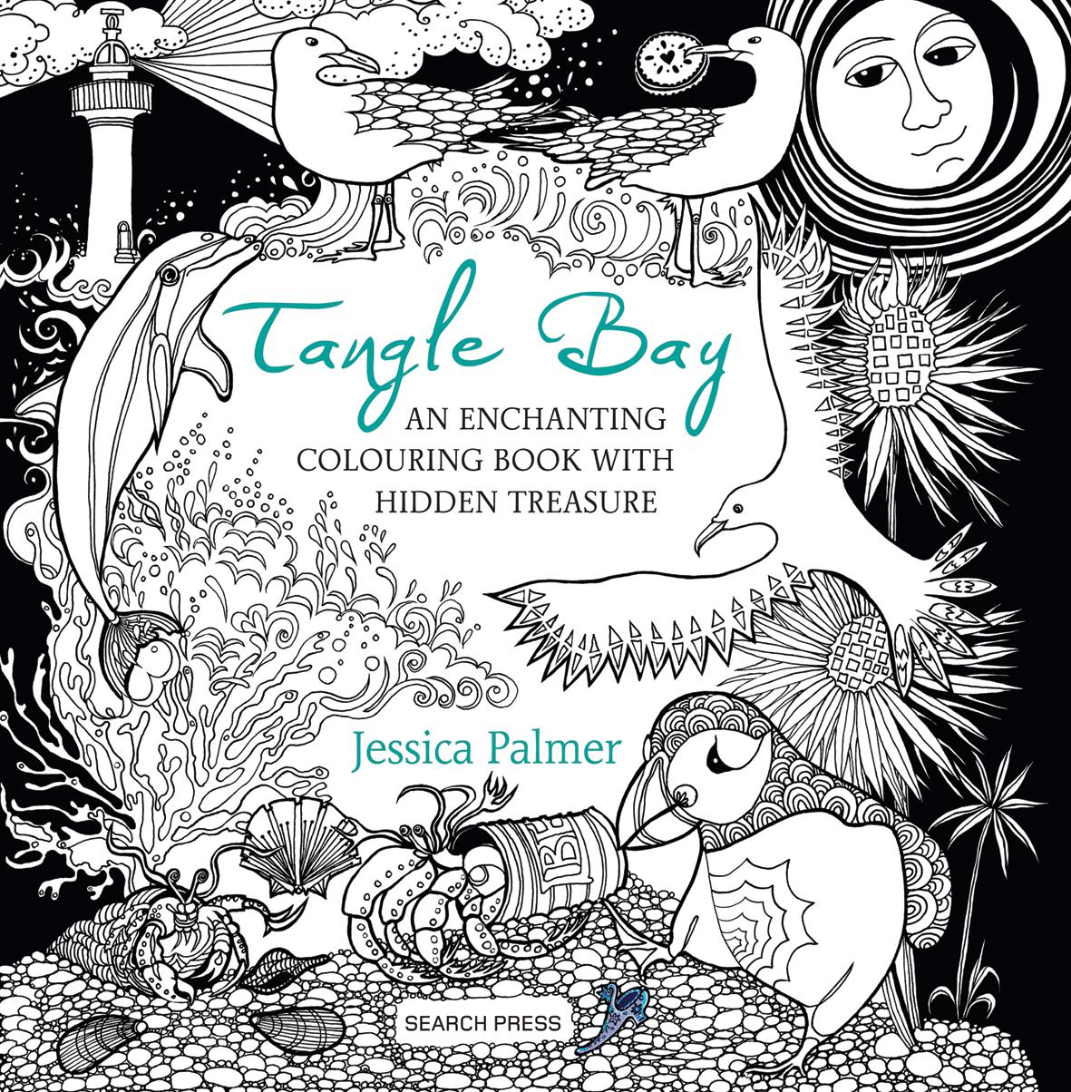 Watercolor books by search press - Tangle Bay