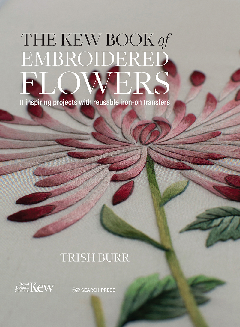 The Kew Book of Embroidered Flowers (Folder edition)