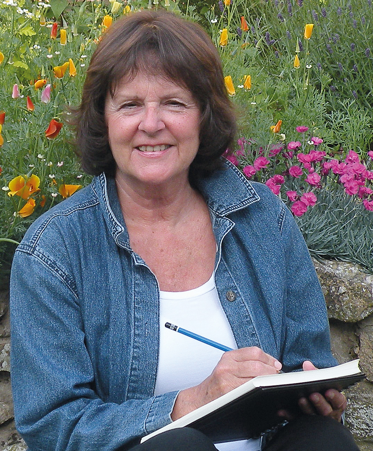 Watercolor books by search press - Meet The Author Janet Whittle