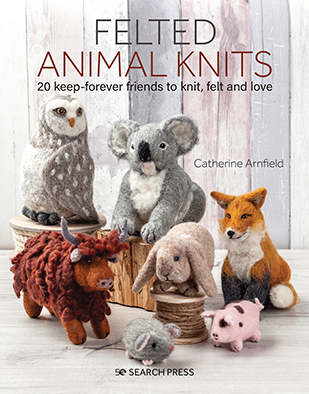 Felted Animal Knits Cover