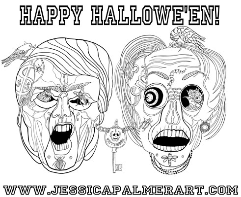 Halloween Election from Jessica Palmer